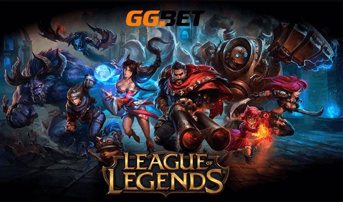 GGBet Brasil permite apostas em e-sports famosos como League of Legends
