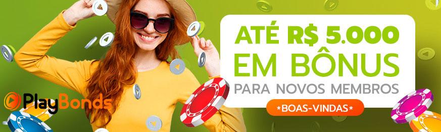 Playbonds Brasil bônus de Casino