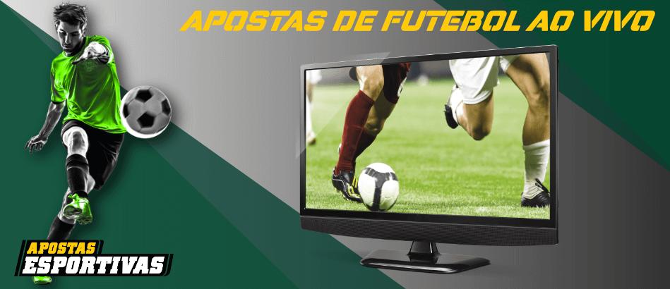 Logotipo para Fazer Apostas de Futebol ao Vivo