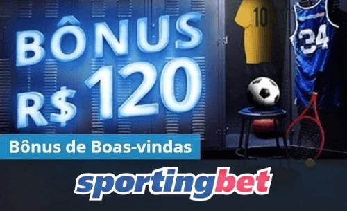 Utilize o Sportingbet bônus de 100% até R$120