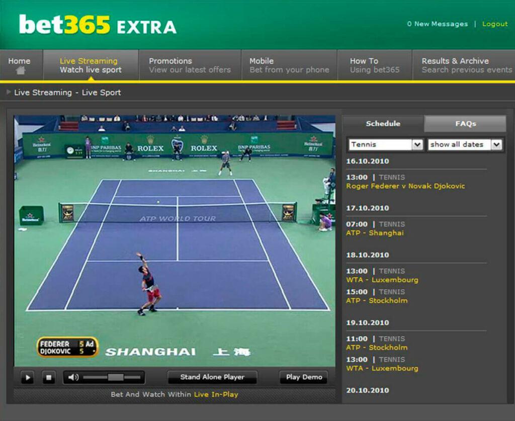A Bet365 Brasil possui um dos melhores serviços de Live streaming do mercado
